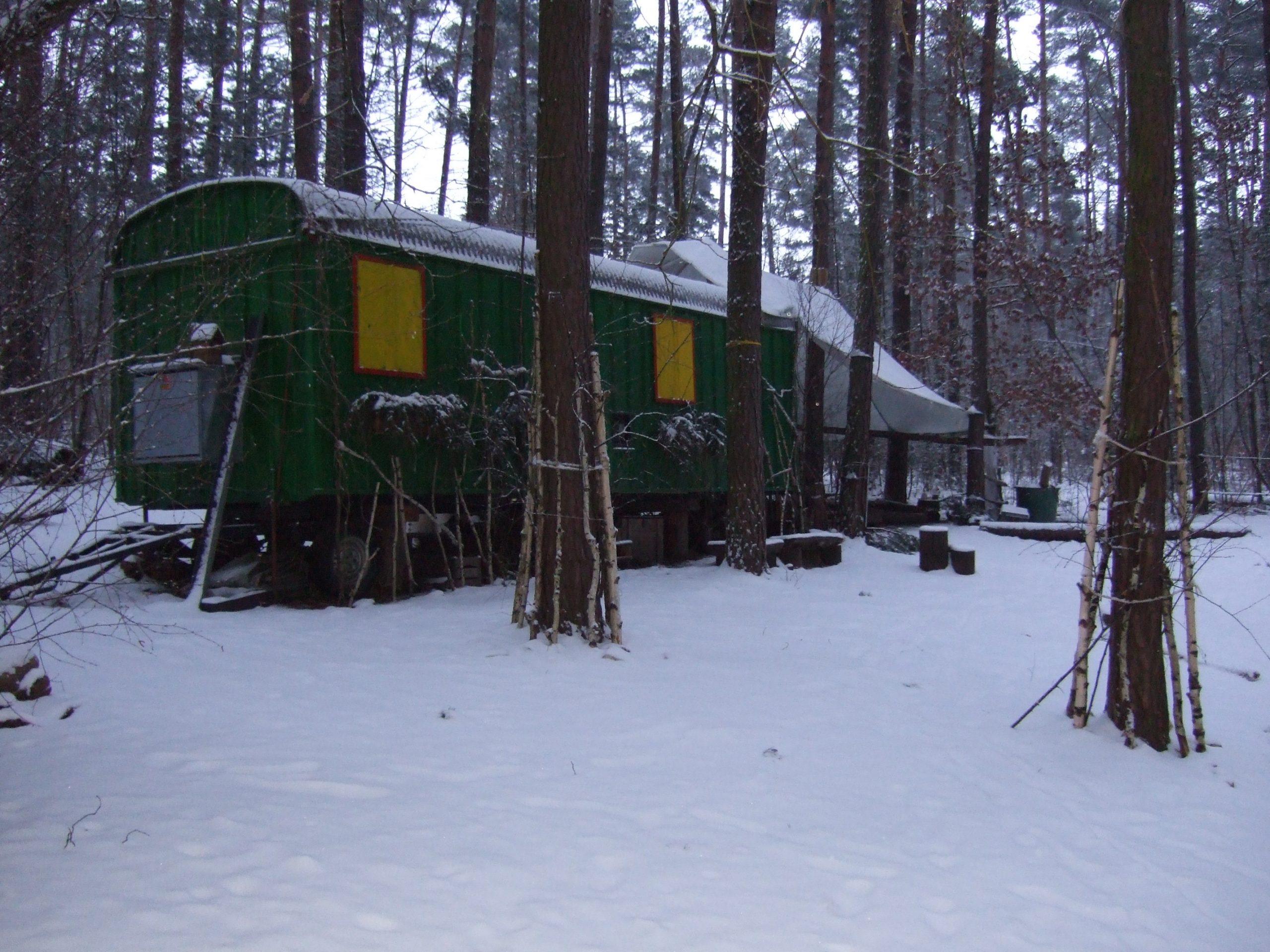 Unser Platz im Winter